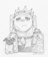 Weary King by lkermel