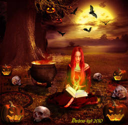 Halloween cooking by Duchess-bgd