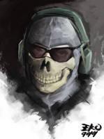 Call Of Duty MW2 Ghost by eko999