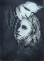 twilight: edward and bella by chemcial23