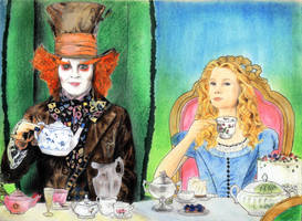alice in wonderland by chemcial23