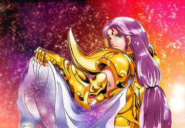 Saint Seiya - Mu - Final by Iso-pI