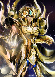 Saint Seiya Soul of Gold - AIOLIA - Final by Iso-pI