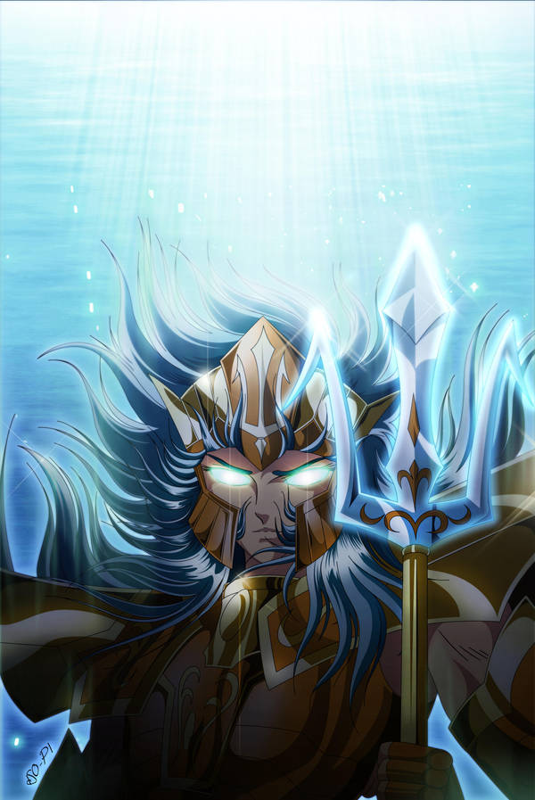 Saint Seiya - POSEIDON - Final by Iso-pI