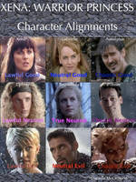 Xena Character Alignments by Danzie182
