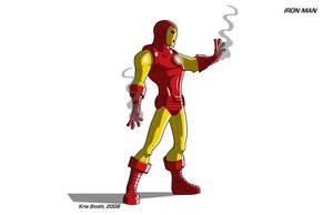 Iron Man, Classic Armor by KrisSmithDW