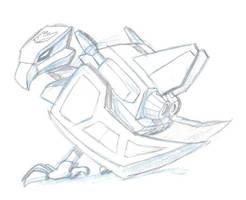 DAILY TF Gen1 Laserbeak by KrisSmithDW