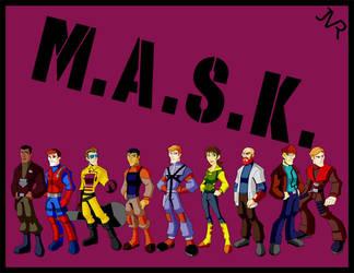 M.A.S.K. by KrisSmithDW