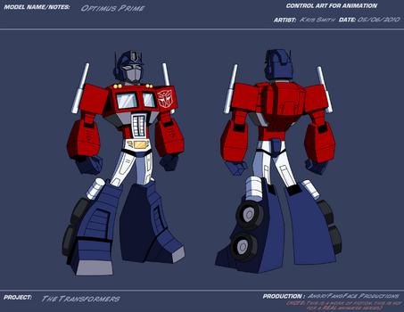 AP Optimus Prime by KrisSmithDW