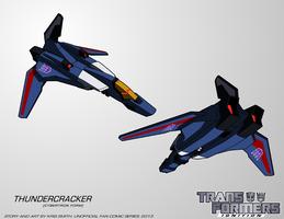 TF:Ignition - Thundercracker (Cyb. Alt Mode) by KrisSmithDW