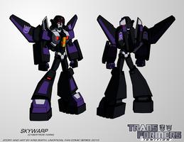 TF:Ignition - Skywarp (Cyb. Robot Mode) by KrisSmithDW