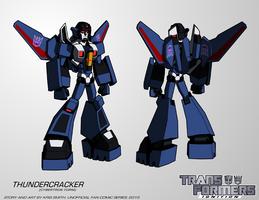 TF:Ignition - Thundercracker (Cyb. Robot Mode) by KrisSmithDW
