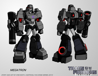 TF:Ignition - Megatron (Robot Mode) by KrisSmithDW