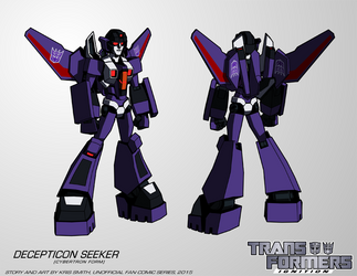 TF:Ignition - Seeker (Female, Cybertron Mode) by KrisSmithDW