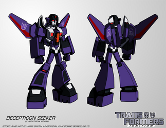 TF:Ignition - Seeker (Male, Cybertron Mode) by KrisSmithDW