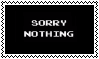 Sorry Nothing (Vinesauce) stamp (F2U) by Luna-The-Fennec