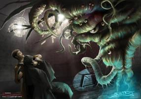 Shoggoth Trap by Kingstantin