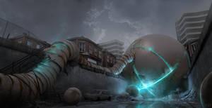 Strange Spheres II by Kingstantin