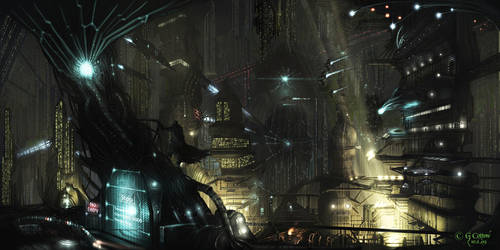 City: Crepusculix - Dark by Xyrga