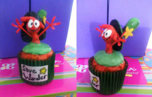 Cupcake of Wander (with model parts) by Jarquin10