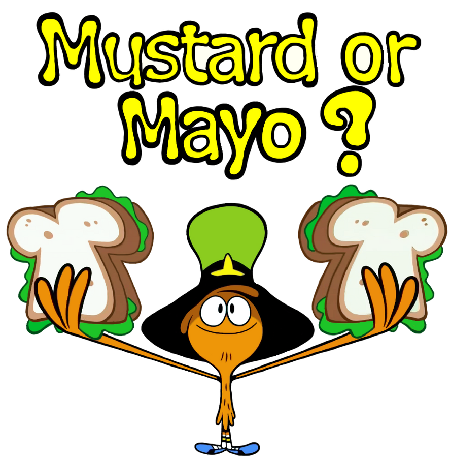 Mustard or Mayo? by Jarquin10