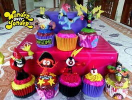Collection of Wander Over Yonder Cupcakes by Jarquin10