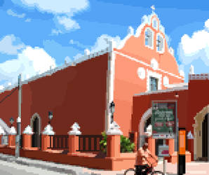 Candelaria church Pixel by Jarquin10