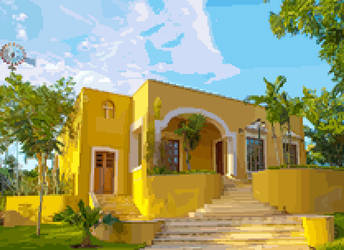 Tecnotel estate, Valladolid Yucatan by Jarquin10