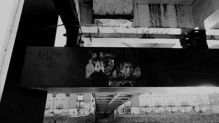 under the bridge by BlackFluffyRainbows