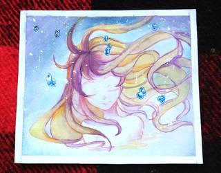 21 - galaxy girl by DessartWorks