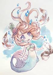Mermaid koi by DessartWorks