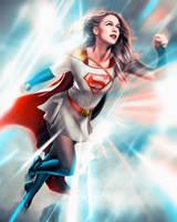 Supergirl x Power Girl mashup by masaolab