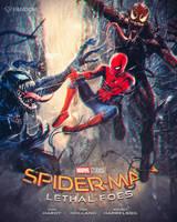 Spider-Man vs. Venom and Carnage by masaolab