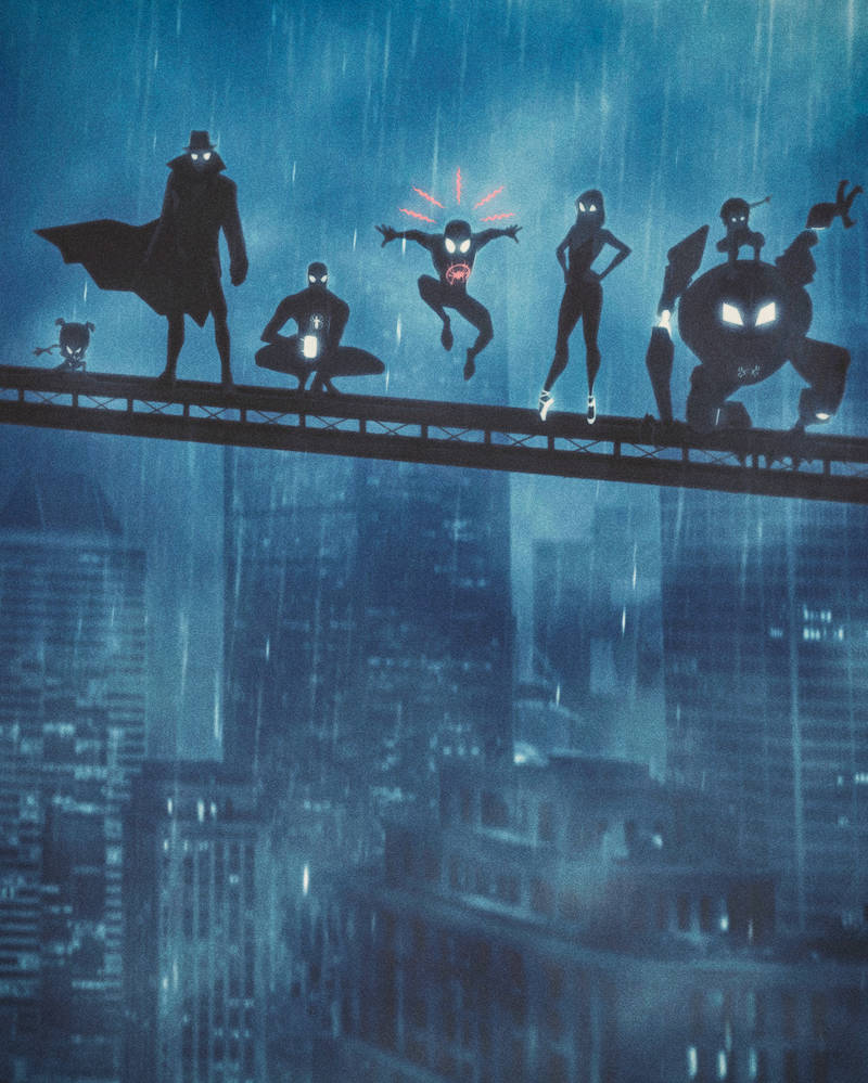 Spider-Man: Into the Spider-Verse Fun, Part II by masaolab