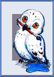 Little Goofy Owl ID by Amarathimi
