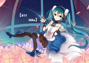 Happy Birthday Miku by Himechui