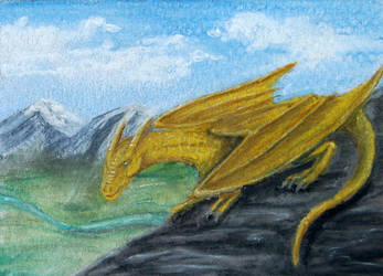 103 - ACEO / KAKAO - The Guardian by malloth86