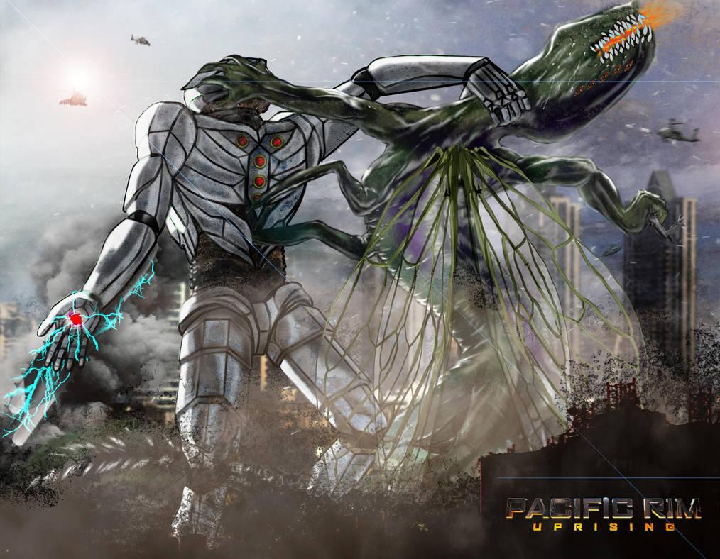 Jaeger Vs Kaiju by AkAdante