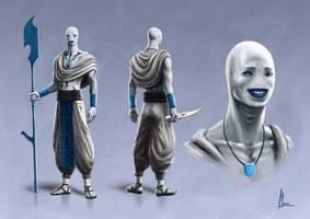 Character design by Patxitoillustrator