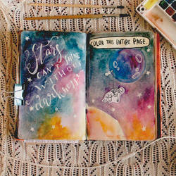From Panka With Love Wreck This Journal Page 14-15 by Bucikah