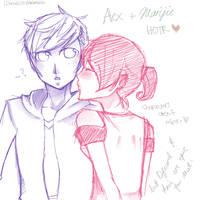 HOTR - Alex x Marijie by iChoulicio