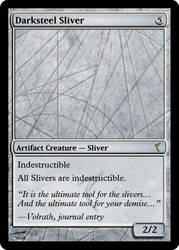 DarkSteel Sliver by IcetheWarriorMage