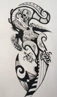 Maori Style Tattoo by Snowtraz