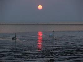 Escort of the getting Sun by Wirikos