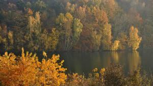 Turkus Lake in gold by Wirikos