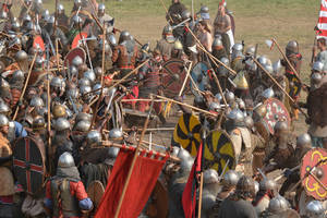 Battle of Wolin by Wirikos