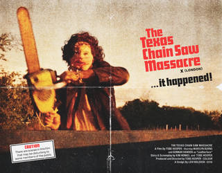 The Texas Chain Saw Massacre (1974) - Quad Poster by Levtones