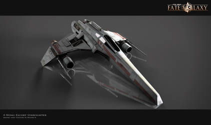 E-Wing Escort Starfighter by Brandx0