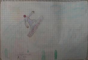 0038 Snowboarder by DeusIX