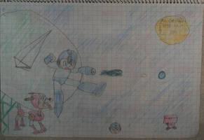 0039 Megaman by DeusIX